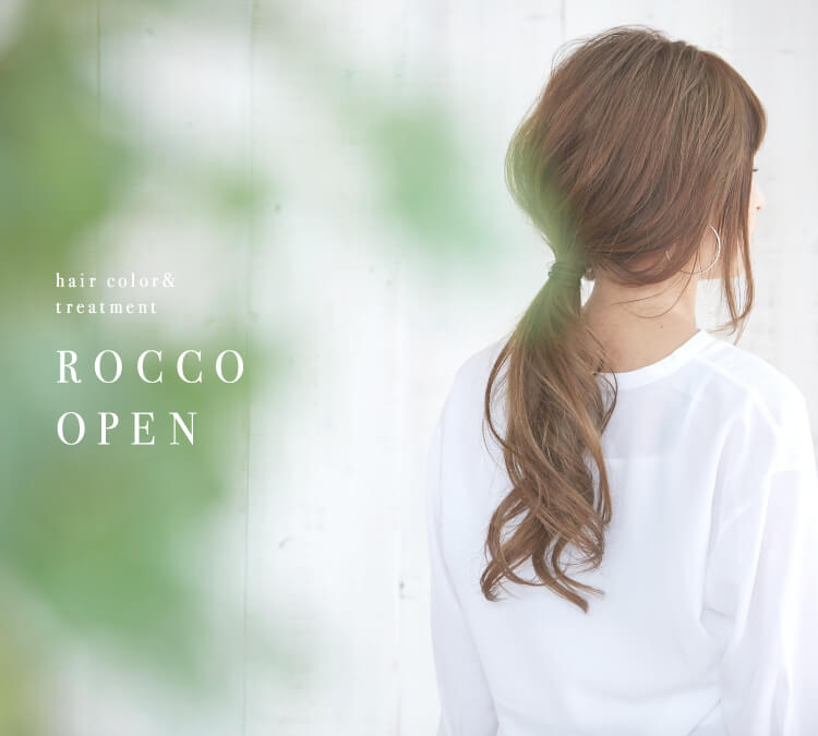 hair color&treatment ROCCO OPEN